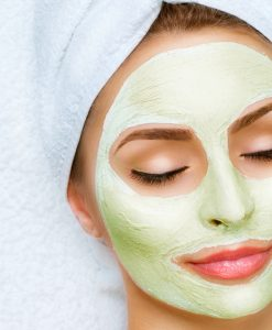 Private Label Face Mask Green