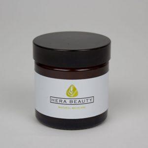 01. Amber pot black lid 60ml-10