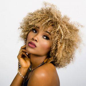 Afro-hair-model