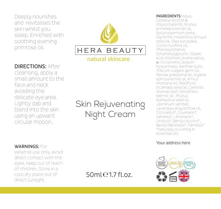 Skin Rejuvenating Night Cream (RR)